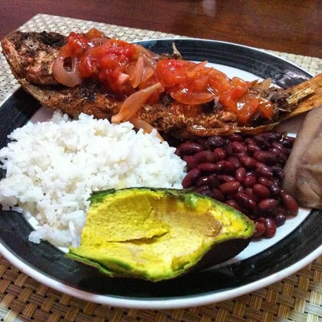 pescado frito a la tipitapa