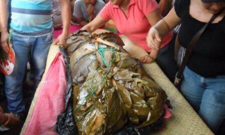 el nacatamal mas grande de nicaragua