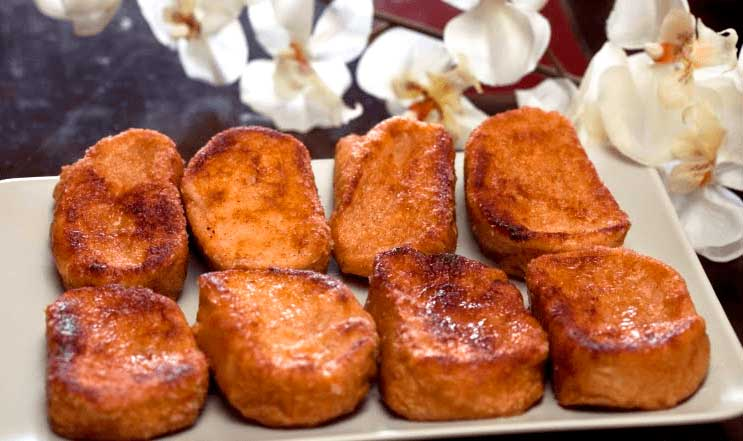 receta torrejas nicaragüenses