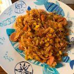 Arroz a la valenciana receta nicaraguense